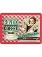 Nostalgic Art Have A Coffee Duvar Panosu 15x20cm Renkli